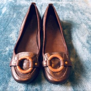 Timberland leather ballet flats